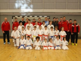 demonstratie Karate la Handball Meets Sibiu