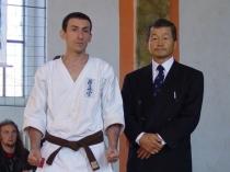 seminar karate kyokushin 2005 Shihan KANAMURA