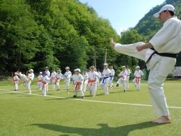 tabara de karate kyokushin