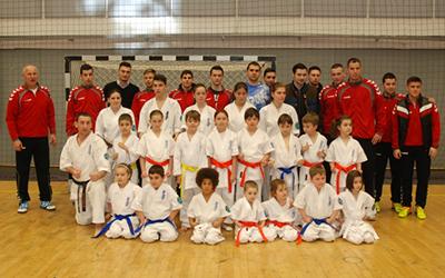Demonstratie Karate