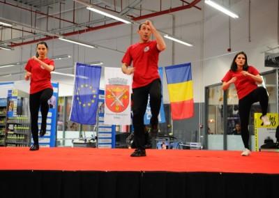 Demonstratie Tae Bo - Decathlon Sibiu