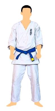 kyokushin-centura-albastra-cu-tresa-galbena-7-kyu