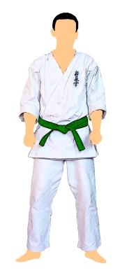 kyokushin-centura-verde-4-kyu