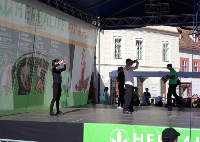 Demonstratie Tae Bo la Herbalife