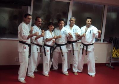 Seminar Karate Kyokushin octombrie 2012