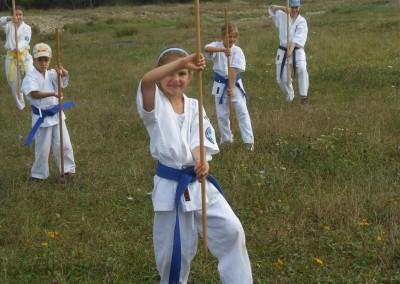 Antrenament Karate Bo