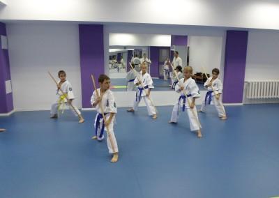 Antrenament de Karate cu Copiii la Sala Transilvania